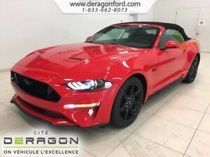 2018 Ford Mustang PRIX EMPLOYE GT PREMIUM CONVERTIBLE SHAKER PRO