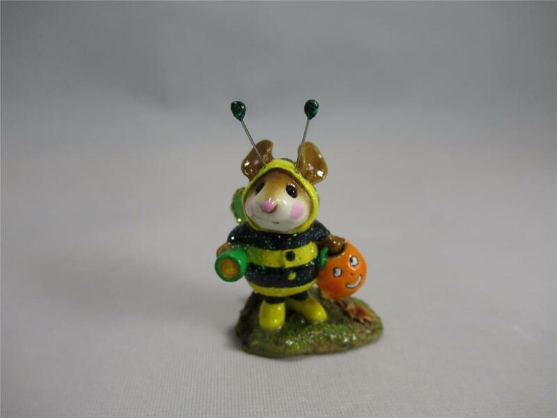 Wee Forest Folk Bee-Dazzled Black & Yellow Green Flashlight - Retired WFF