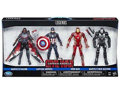 "Marvel Legends infinite series 3 pack Captain America 6/"" figure Target exclusive"