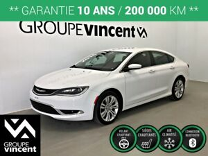 2016 Chrysler 200 LIMITED **GARANTIE 10 ANS**