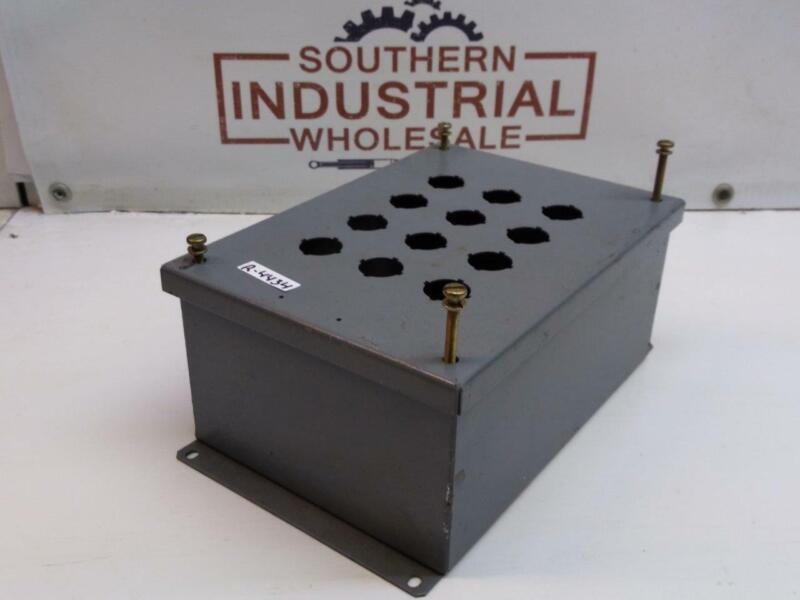 Square D S25418 Electrical 9 Button Enclosure Box