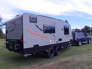 2013 On The Move Caravans Off road 20ft Traxx series Gympie Gympie Area Preview