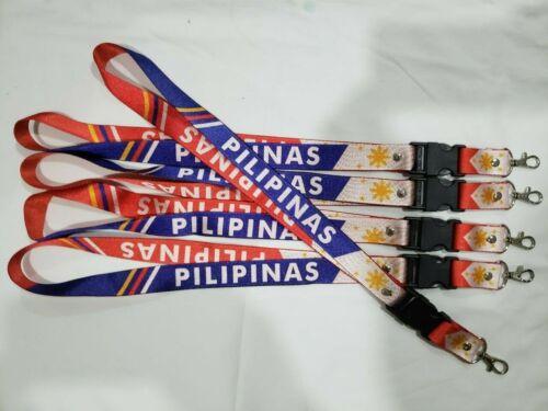 Pilipinas Flag Red Lanyard Philippines Filipino