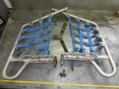 2005 Yamaha YFZ450 AC Alum Nerf Bars MX Footpegs LSR RPM ( YFZ 450 Raptor 700 R