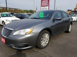 2012 Chrysler 200 LX CLEAN CAR PROOF !!  LOCAL TRADE !!  LOW...