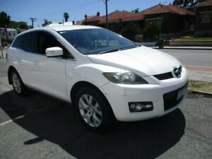 2008 Mazda CX-7 ER1031 MY07 Classic White 6 Speed Sports Automatic Wagon West Perth Perth City Area Preview