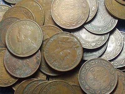 1919 CANADIAN LARGE PENNIES KING GEORGE V        BUY ONE OR BUY THEM ALL