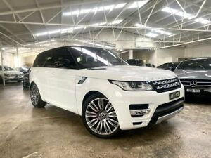 2016 Land Rover Range Rover Sport L494 16.5MY Autobiography White 8 Speed Sports Automatic Wagon Moorabbin Kingston Area Preview
