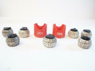 Lot Of 7 Ibm And Gp Type Balls For Ibm Selectric I-iii Typewriters
