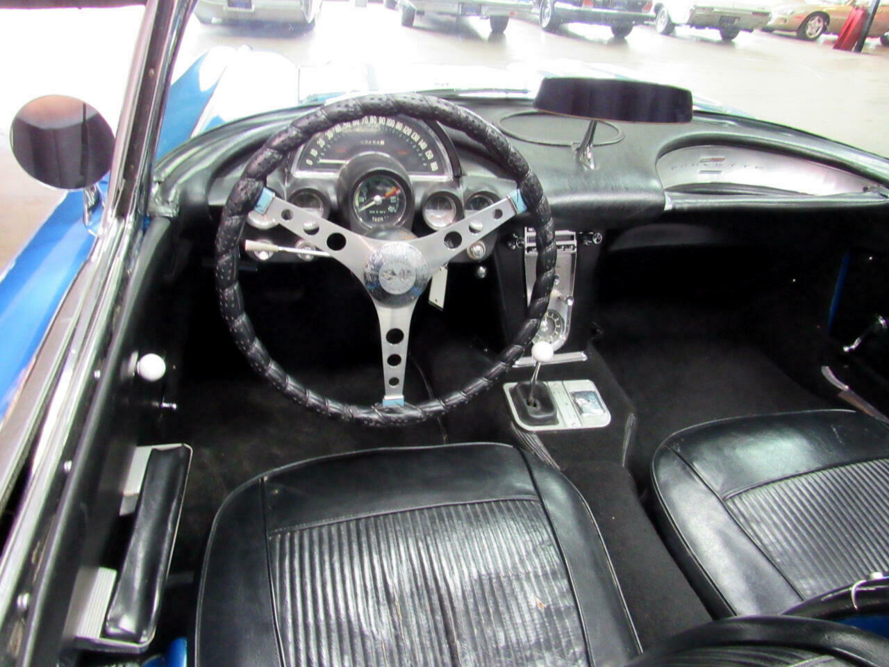 1961 Blue Chevrolet Corvette   | C1 Corvette Photo 9