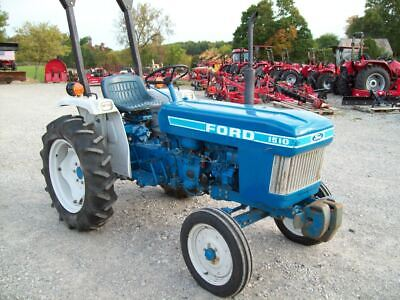 Ford 1510 Compact Diesel Tractor Very Nice Very Good Condition