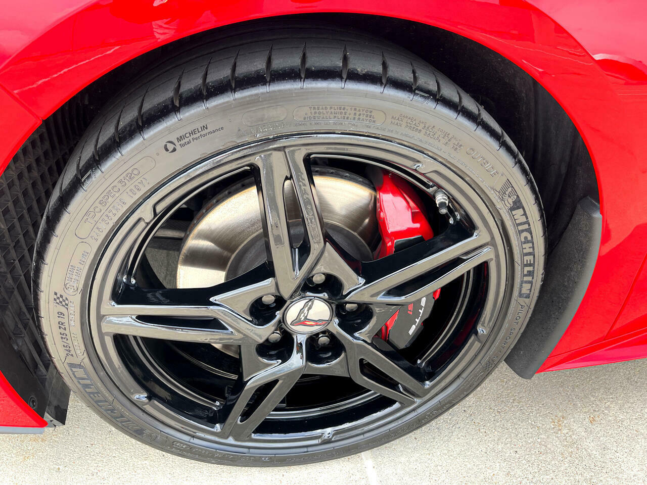 2020 Red Chevrolet Corvette Coupe 1LT | C7 Corvette Photo 10
