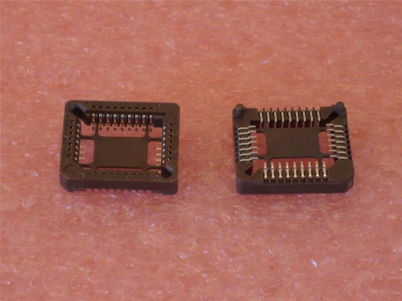 PLCC SOCKETS 32 PIN SMD ( Qty 20 ) *** NEW ***