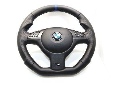 Used, BMW Sport M-Tech Mtech M-Technik E46 E38 E39 X53 Steering Wheel BLACK LEATHER m for sale  Shipping to Canada