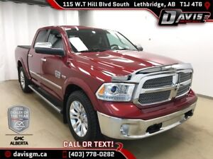 2014 RAM 1500 Longhorn 4WD, HEATED/COOEDL LEATHER, SUNROOF, H...