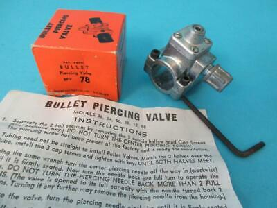 New Nos Bullet Piercing Valve Sealed Unit Bpv-78 Self Tapping Refrigerator Supco