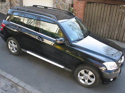 Mercedes Benz GLK X204 Alu Trittbretter Schweller Blanco ab 2008