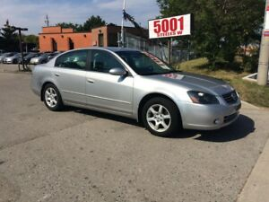 2005 Nissan Altima 2.5,AUTO,159KM,SAFETY+3YEARS WARRANTY INCLUDE