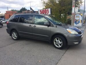 2004 Toyota Sienna AWD,LE,214KM,SAFETY+3YEARS WARRANTY INCLUDED