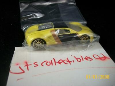 2007 Hot Wheels Mystery Cars BUGATTI VEYRON Yellow Edition Never opened