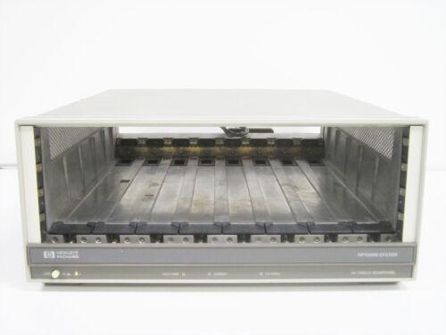 HP 70001A EXTENDER MAINFRAME & 70310-60016 DC POWERPACK ~  AGILENT KEYSIGHT