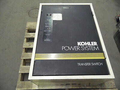 Kohler K-168341-0104 208 Volt 104 Amp 4 Wire 3 Pole Automatic Transfer Switch