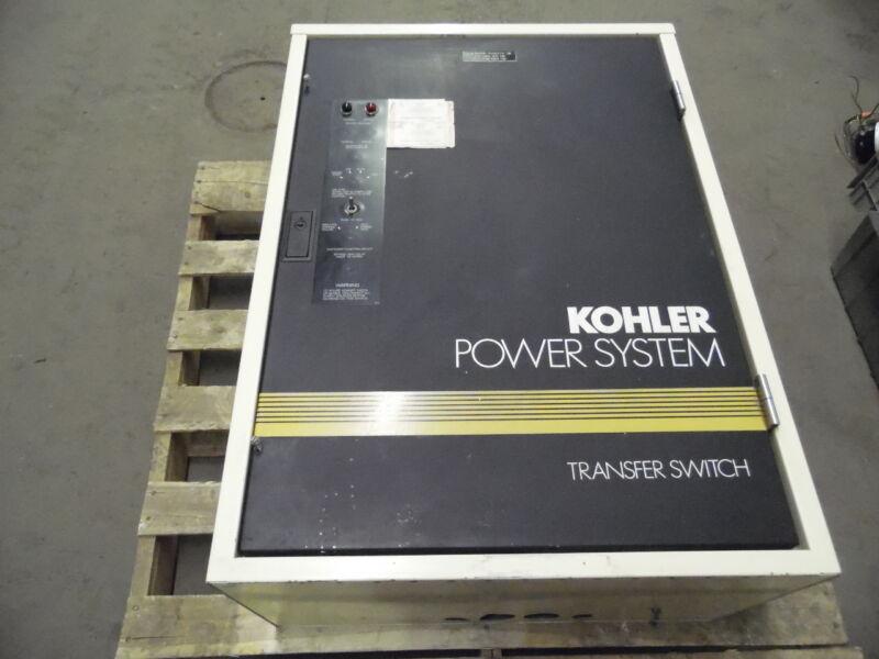 Kohler K-168341-0104 208 Volt 104 Amp 4 Wire 3 Pole Automatic Transfer Switch