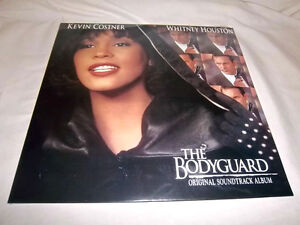 s/t THE BODYGUARD-WHITNEY HOUSTON-ARISTA 18699-1 NEW SEALED LP
