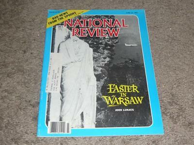 NATIONAL REVIEW MAGAZINE / JUNE 12 1981 / EASTER IN WARSAW / MORALE AT THE (National Review Magazine)