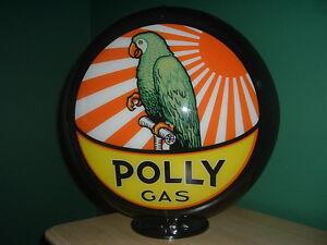 POLLY GASOLINE GAS PUMP GLOBE