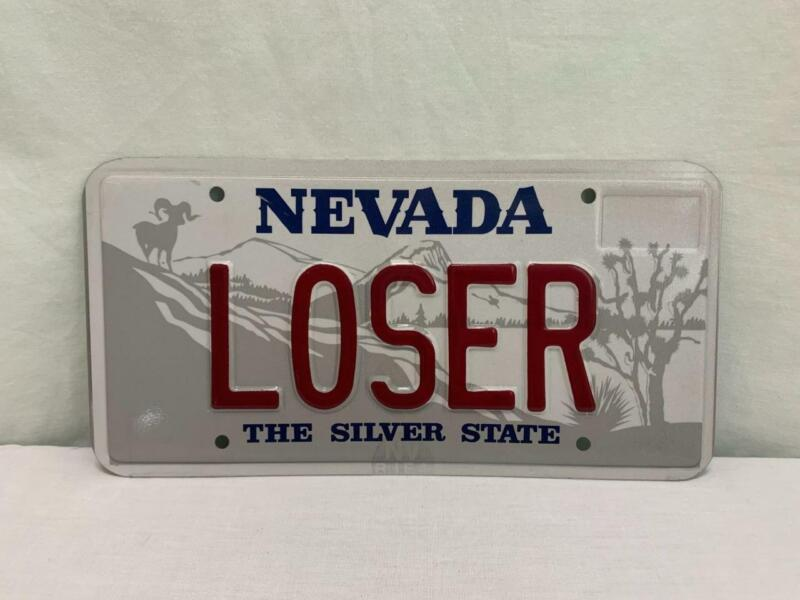 Nevada Souvenir License Plate