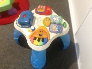 Baby kids Fisher price interactive musical toddler activity table Latrobe Latrobe Area Preview
