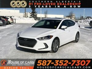 2018 Hyundai Elantra GLS / Heated Leather Seats / Back up camera