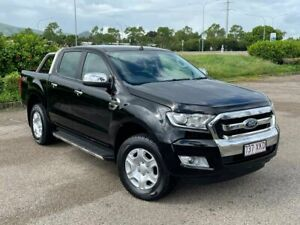 2017 Ford Ranger PX MkII XLT Double Cab Black 6 Speed Sports Automatic Utility Garbutt Townsville City Preview
