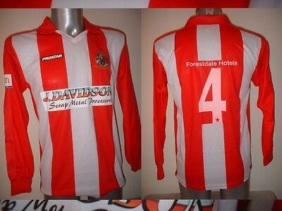 Altrincham Adult Small Shirt Jersey Football Soccer Player 4 Top Alty Rare L/S image