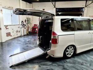 2009 Toyota Noah ZZR70G White Constant Variable Van
