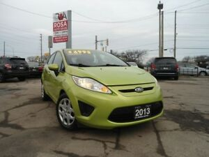 2013 Ford Fiesta AUTO HATCH GAS SAVER 5 PASS A/C PW PL PM