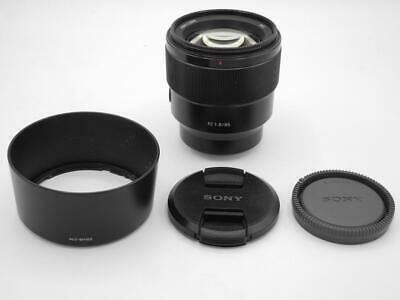 Sony 85mm f/1.8 FE E-Mount Lens - SEL85F18 - Fast Shipping