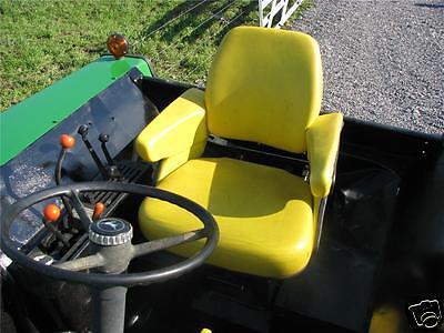 4 PIECE YELLOW SEAT CUSHION ASSEMBLY JOHN DEERE,JD 4230,4430,4440,4450,4455 (4 Piece Seat Cushion)