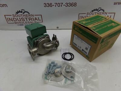 New Taco 0013-sf3 16hp 115v 3250rpm 125psi Ss Hot Water Circulator Pump