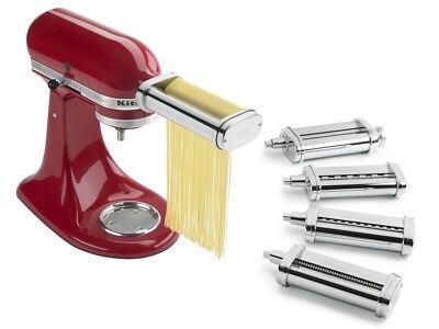 KitchenAid Pasta Deluxe Attachment Set (Pasta Roller / Spaghetti, Fettuccine, Ca (Pasta Roller Attachment Set)