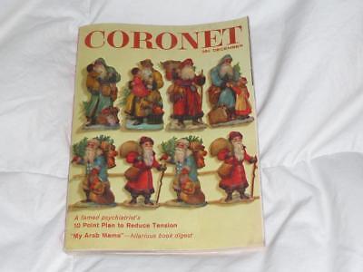 CORONET MAGAZINE / DECEMBER 1960 / DIGEST SIZE / ART BUCHWALD / POPE JOHN XXIII