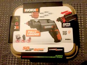 NEW Worx Slide Driver Cordless Screwdriver Rechargeable Malvern East Stonnington Area Preview