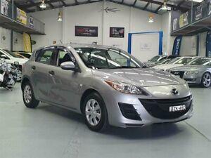 2011 Mazda 3 BL 10 Upgrade Neo Graphite Grey 5 Speed Automatic Hatchback Seven Hills Blacktown Area Preview