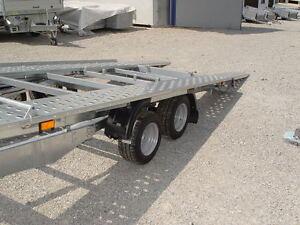 2700kg Kippanhänger Kipper Fahrzeugtransporter Autotransporter KFZ Transporter