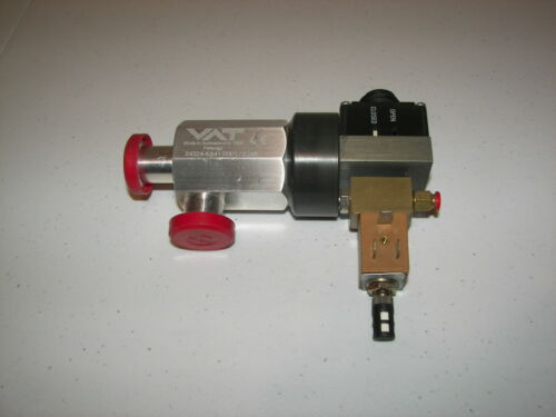 VAT Shut Off Valve Lucifer Pneumatic Orif 1.5  Bar 10