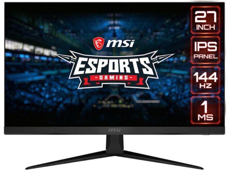 """MSI Optix G271 27"""" Full HD 1920 x 1080 1ms (MPRT) 144Hz 2x HDMI DisplayPort AMD"""