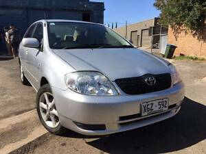 2003 Toyota Corolla Sedan Auto Cold Air Power Wins Full Service Melrose Park Mitcham Area Preview