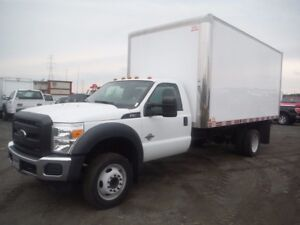 2015 Ford F-550 CUBE 16 PIEDS
