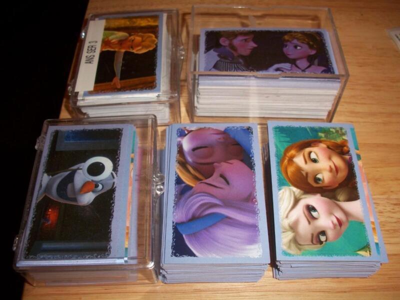 PANINI DISNEY FROZEN LOT OF 100 DIFFERENT ALBUM STICKERS PACK FRESH NM/MINT